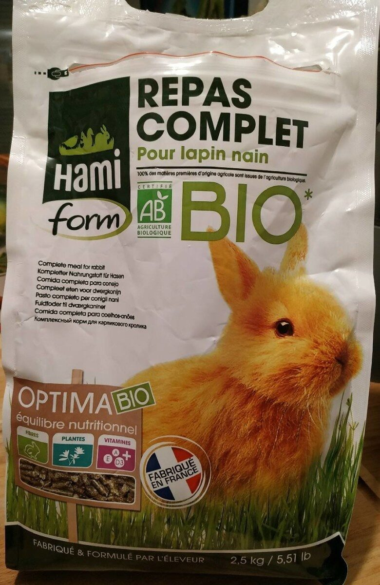 Repas complet pour lapin nain - Product - fr