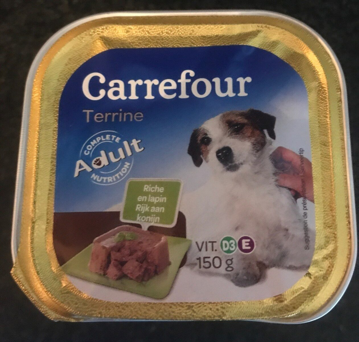 Delicieuse terrine de lapin - Product - fr