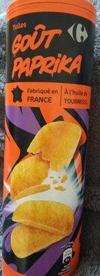tuile goût paprika - Produit