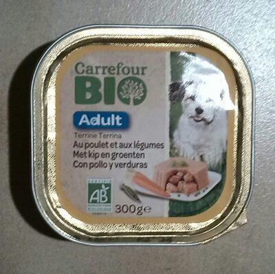 Terrine Bio au poulet et aux legumes - 4