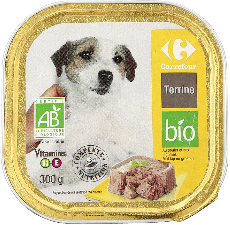 Terrine bio - Product - fr