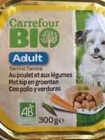 Terrine Bio au poulet et aux legumes - Product