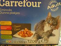 Carrefour émincés pour chat - Product - fr