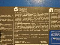 Carrefour émincés pour chat - Informations nutritionnelles - fr