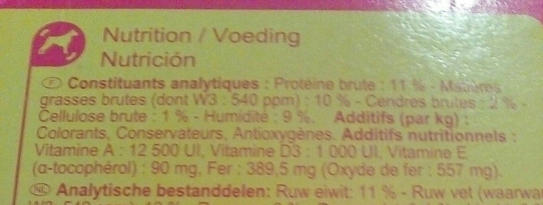 Snacks - Ingredients