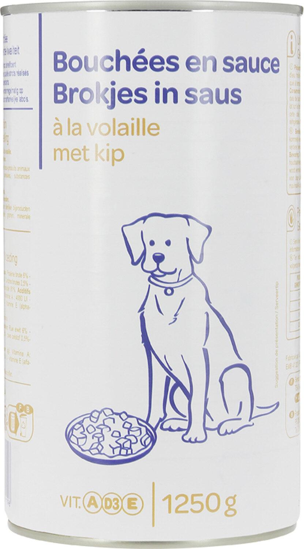 Bouchées en sauce volaille - Product - fr
