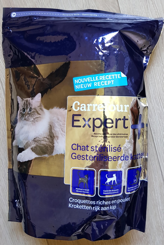 Croquettes chat stérilisé riches en poulet - Product - fr