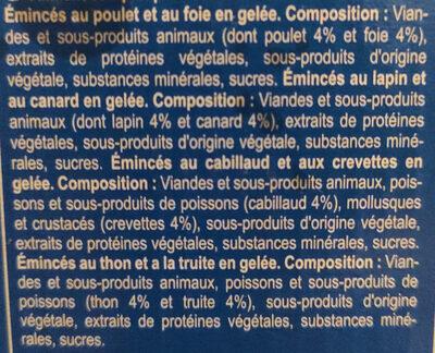 Émincés en gelée - Ingrédients - fr