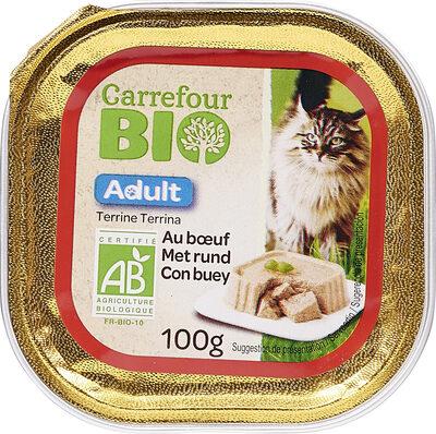 Terrine chat boeuf - Produit - fr