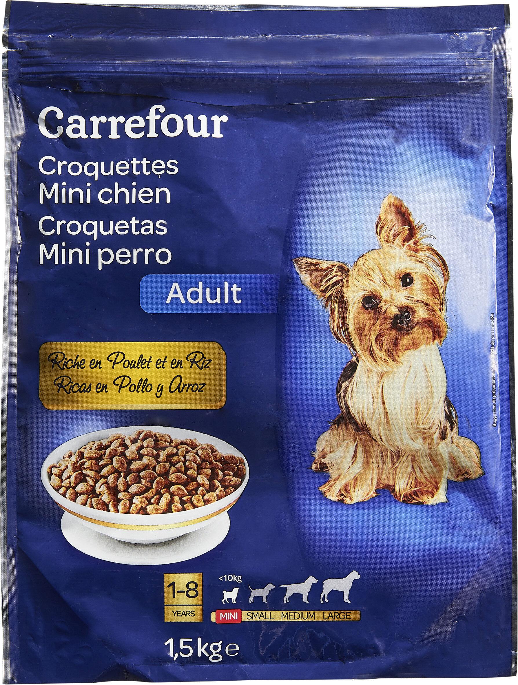 Croquette mini chien - Produit - fr