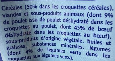 multicroquettes - Ingredients