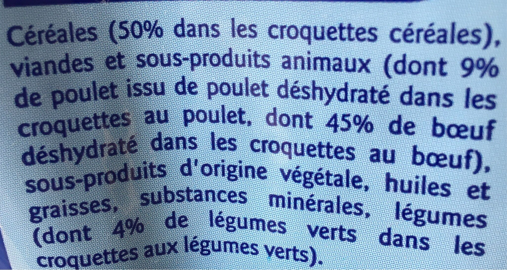 multicroquettes - Ingredients - fr