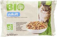 Émincé chat bio carrefour - Produit - fr