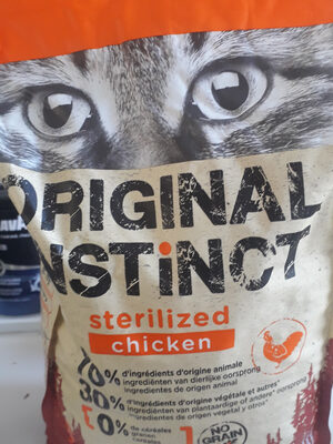 original instinc sterilized - Produit
