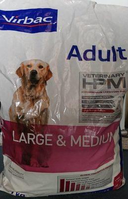Virbac Veterinary HPM Adult Large & Medium Dog 7 KG - Produit