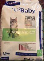 Virbac Veterinary HPM Baby Pre Neutered Cat 1.5 KG - Product - fr