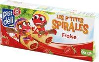 P'tites spirales fraise - Produit - fr