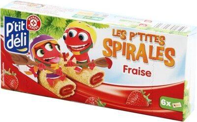 P'tites spirales fraise - Product - fr