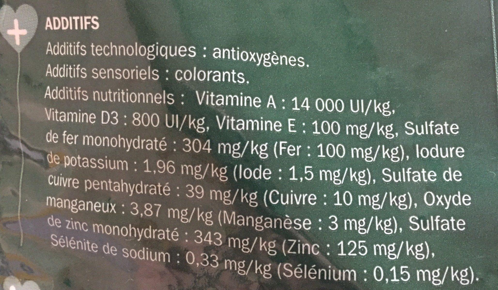 Croquettes Volaille, Légumes Et Riz - Spéciales Petits Chiens - Ingredients - fr