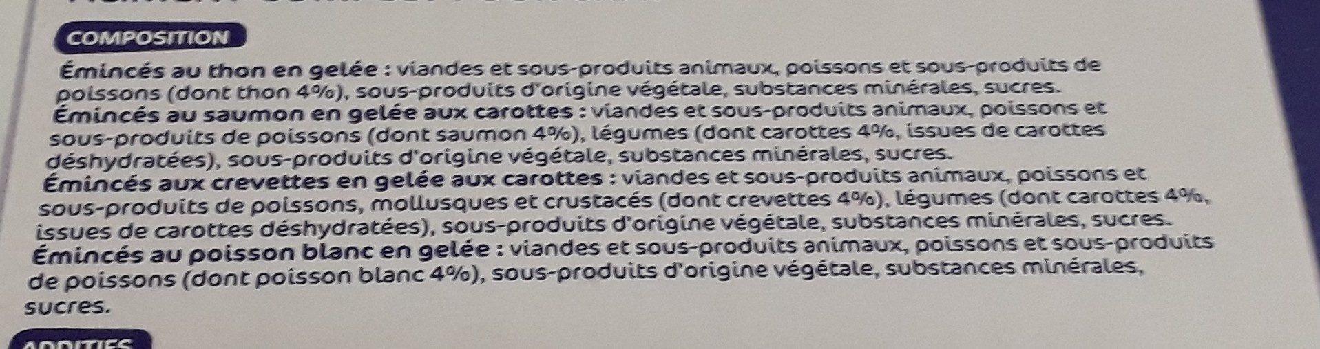 Sachet fraicheur gelée - Ingredients