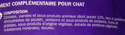 Mini snacks - Ingredients - fr