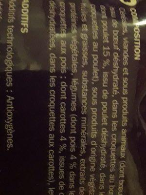 Les croquettes - Ingredients - fr