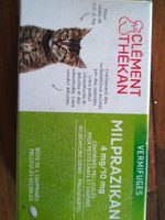 Milprazikan Chatons 2CPR - Nutrition facts - fr