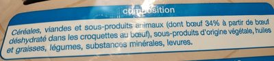 Adult multi-croquettes nutrition & plaisir - Ingredients - fr