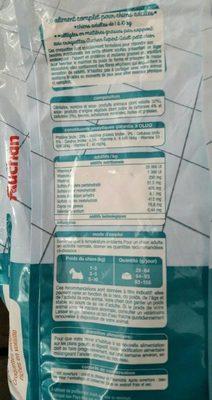 contrôle du poids croquettes allégées riches en volaille - Nutrition facts - fr