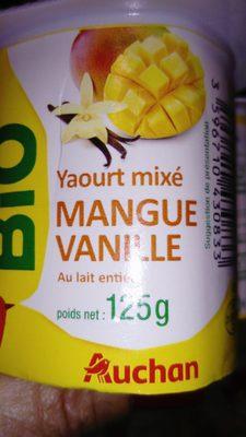 yaourt mixé bio - Product