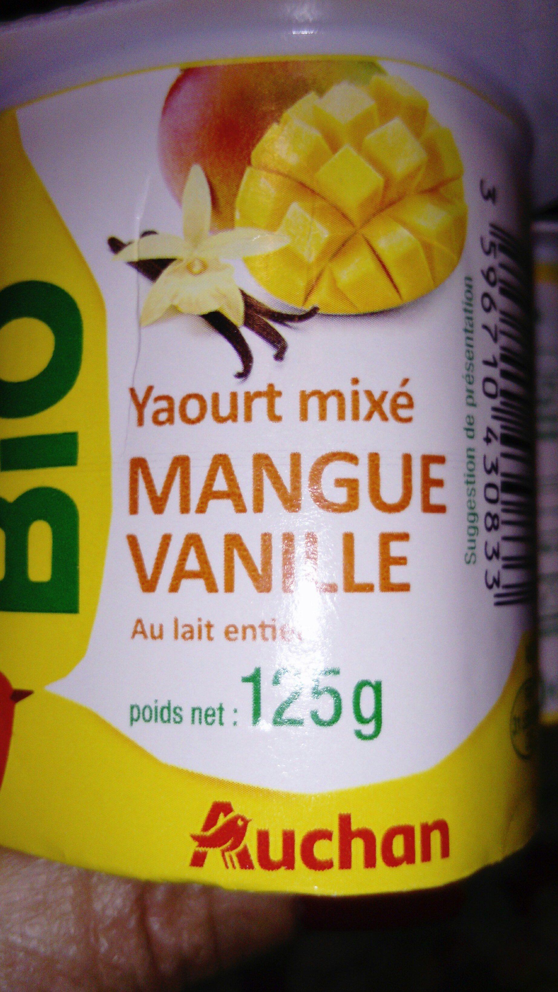 yaourt mixé bio - Produit - fr