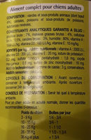 Patée - Ingredients - fr