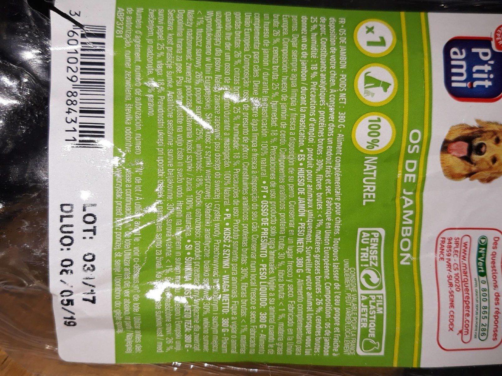 Os de jambon - Product