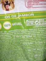 Os de jambon - Ingredients