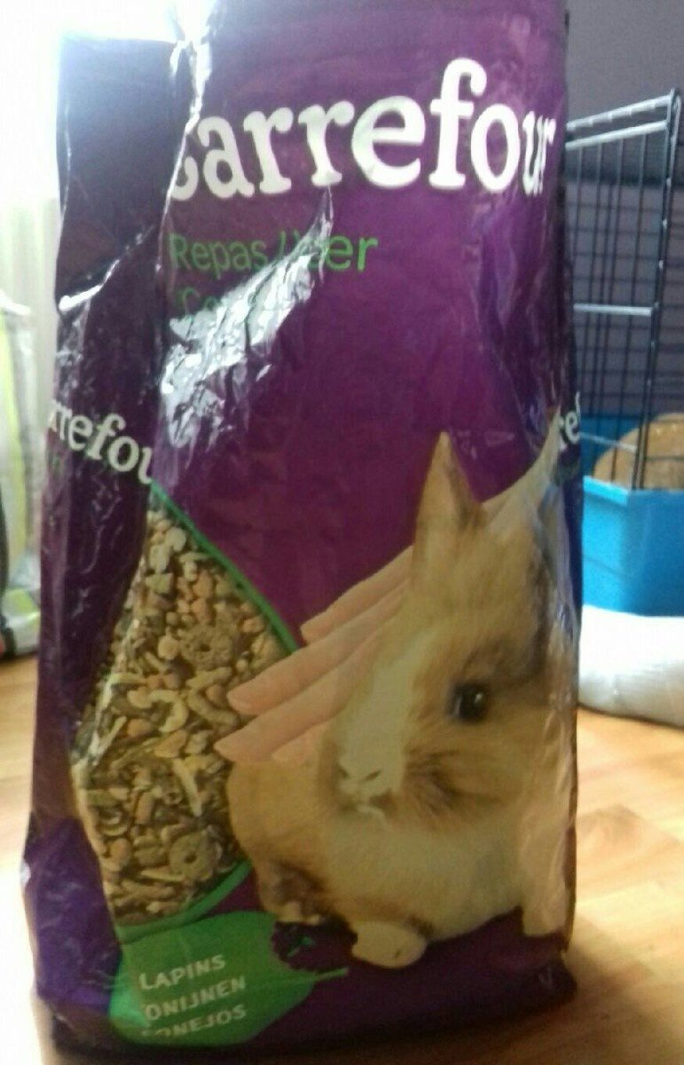 Repas lapin - Product