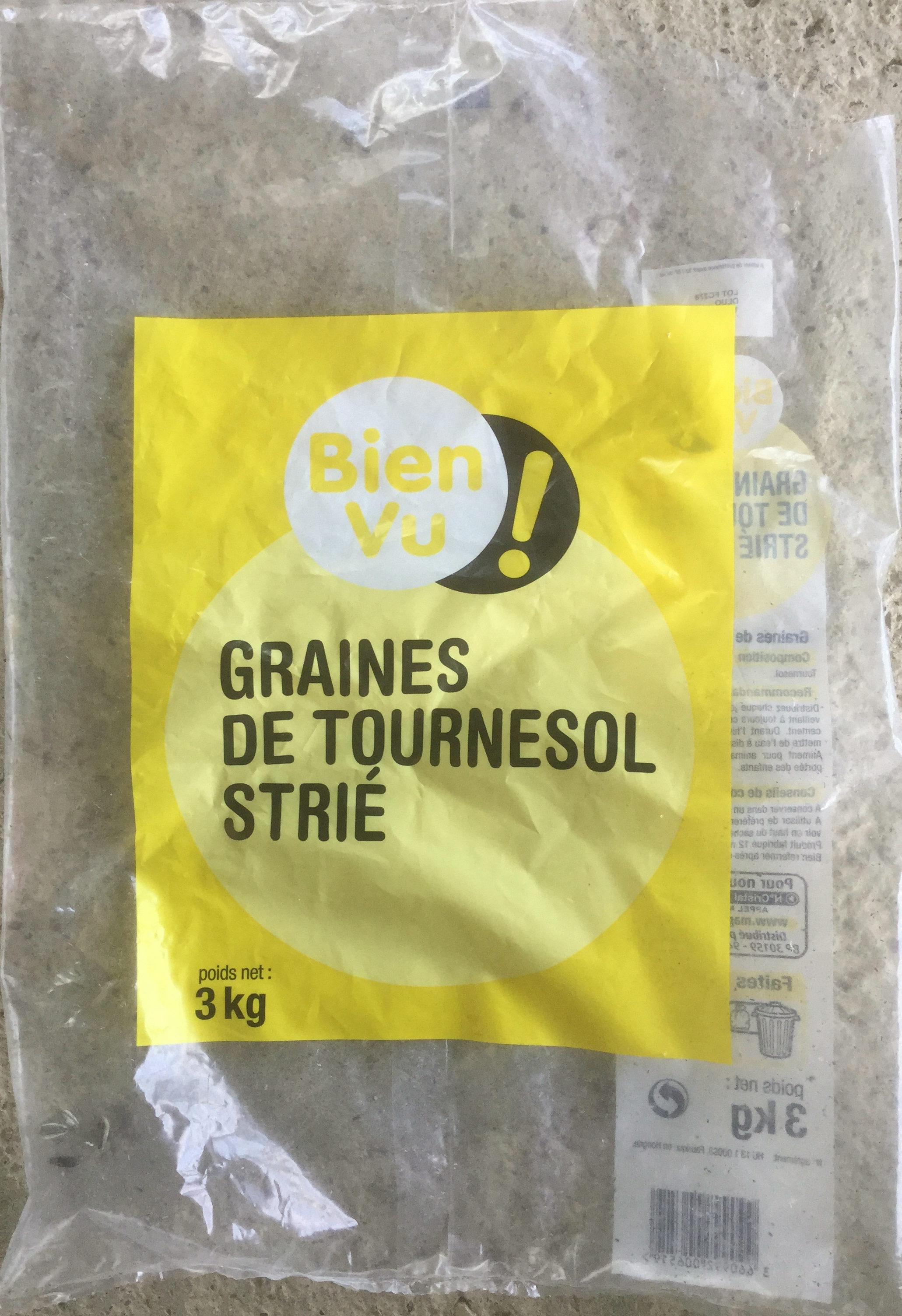 Graines de tournesol strié - Product - fr