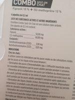 Frontline - Combo Chat & Furet - Ingredients - fr