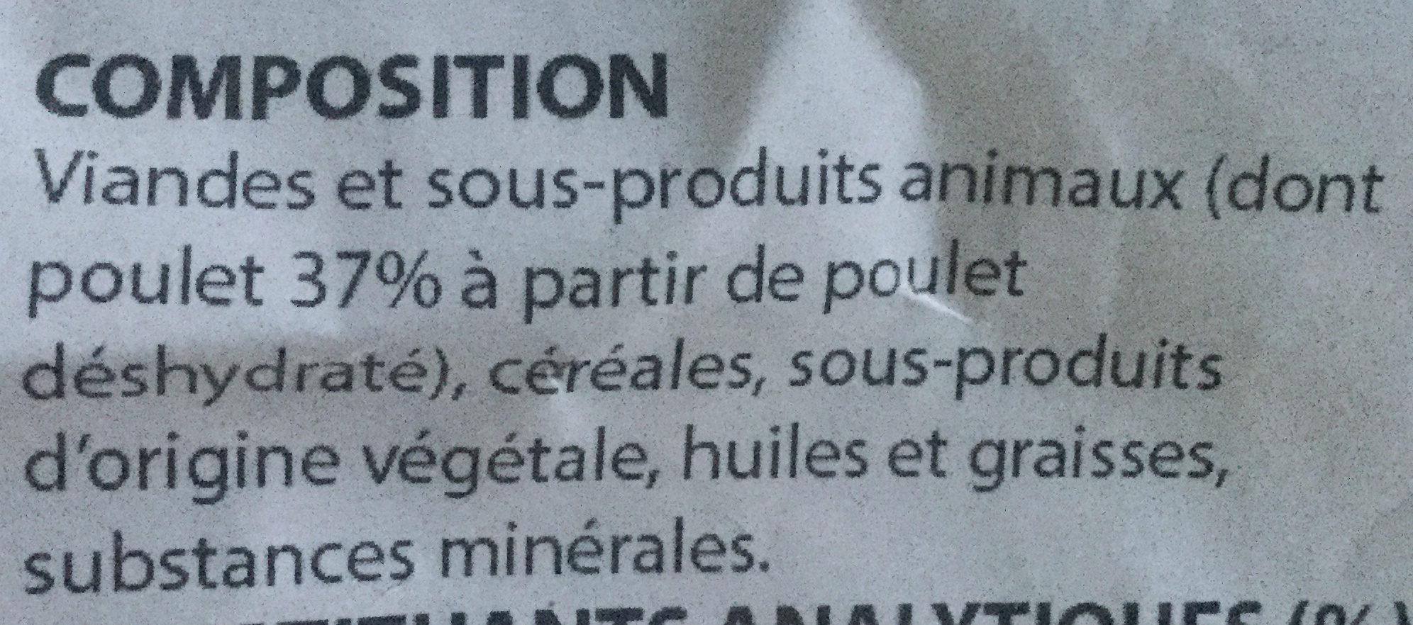 Athlétique - Ingredients