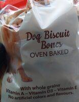 Dog biscuit bones - Product - fr