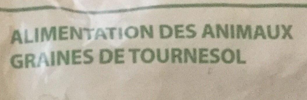 Tournesol pour oiseaux - Ingredients - fr