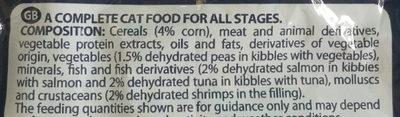 Delice au saumon, thon et aux légumes - Ingredients