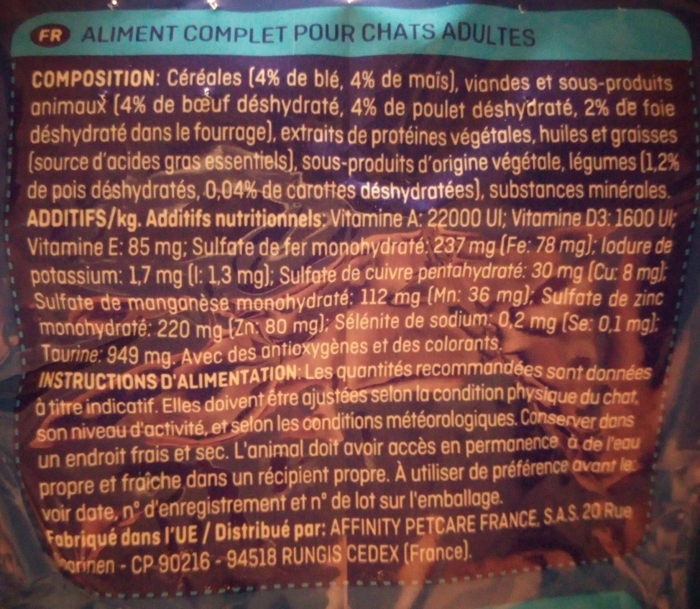 Croquettes Excel Roll - Ingredients