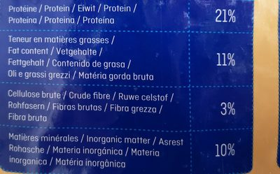 Brekkies Adulte, à la volaille - Nutrition facts