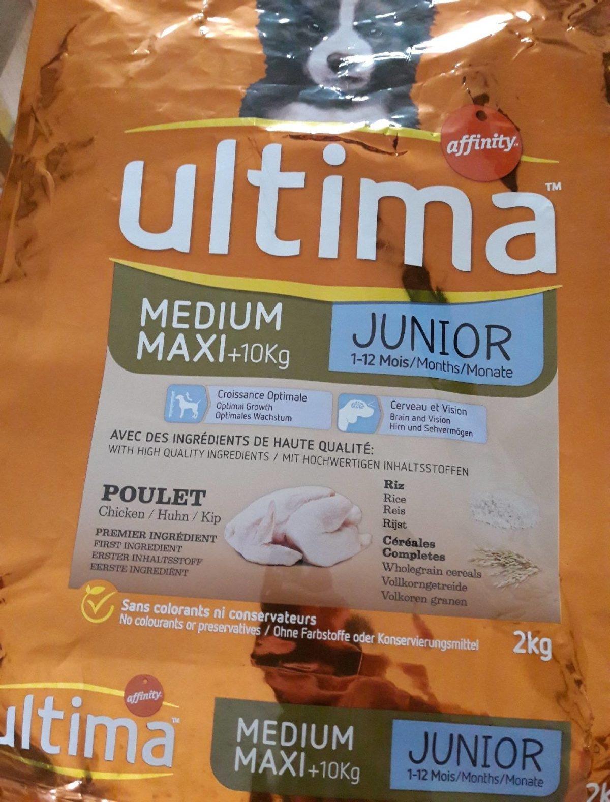 Ultima affinité medium maxi junior - Product