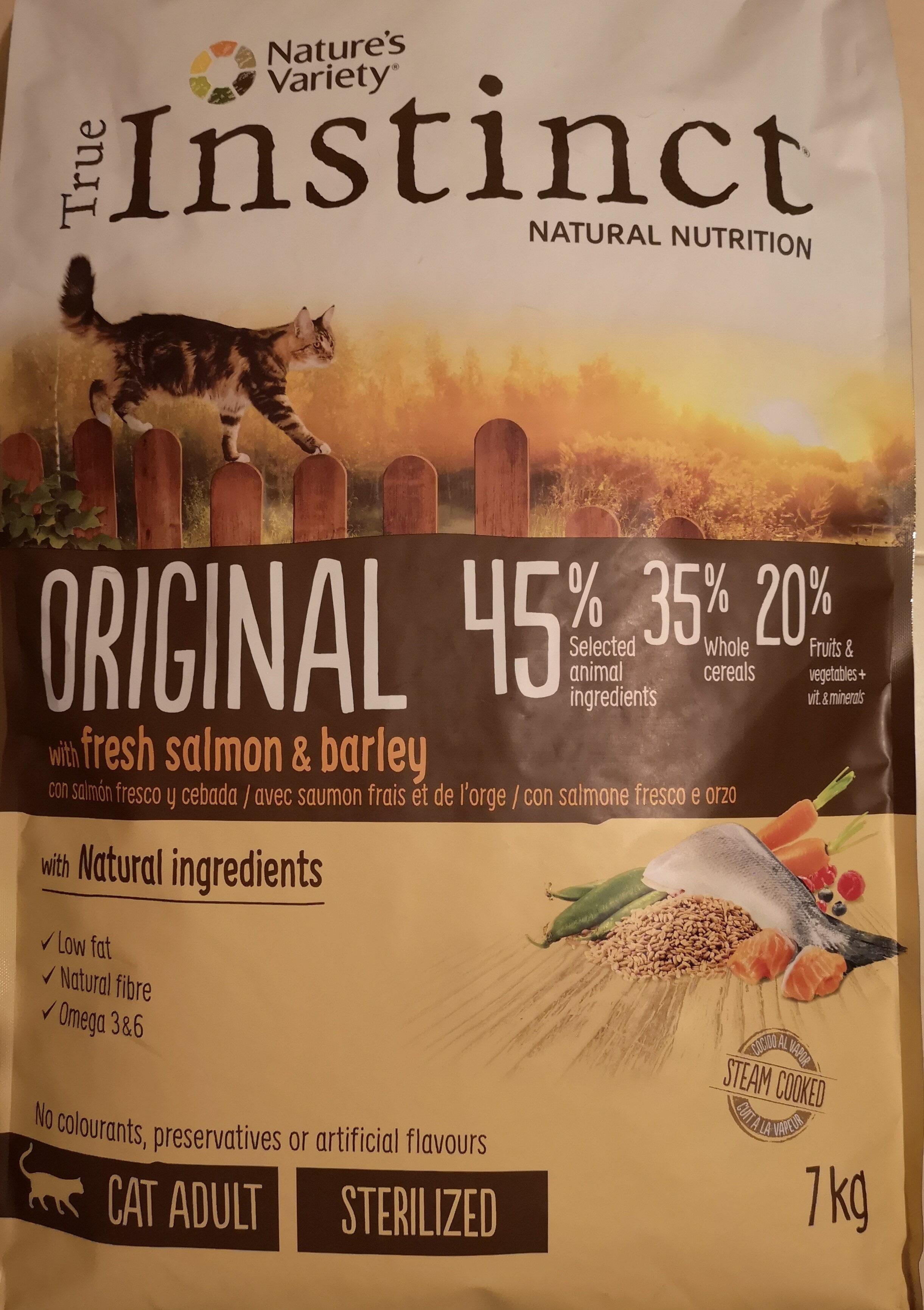 original con salmón fresco y cebada - Product
