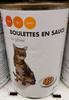 Boulettes en sauce au gibier - Produit