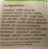Croquettes Chien 2KG Petite Race Moins De - Ingredients