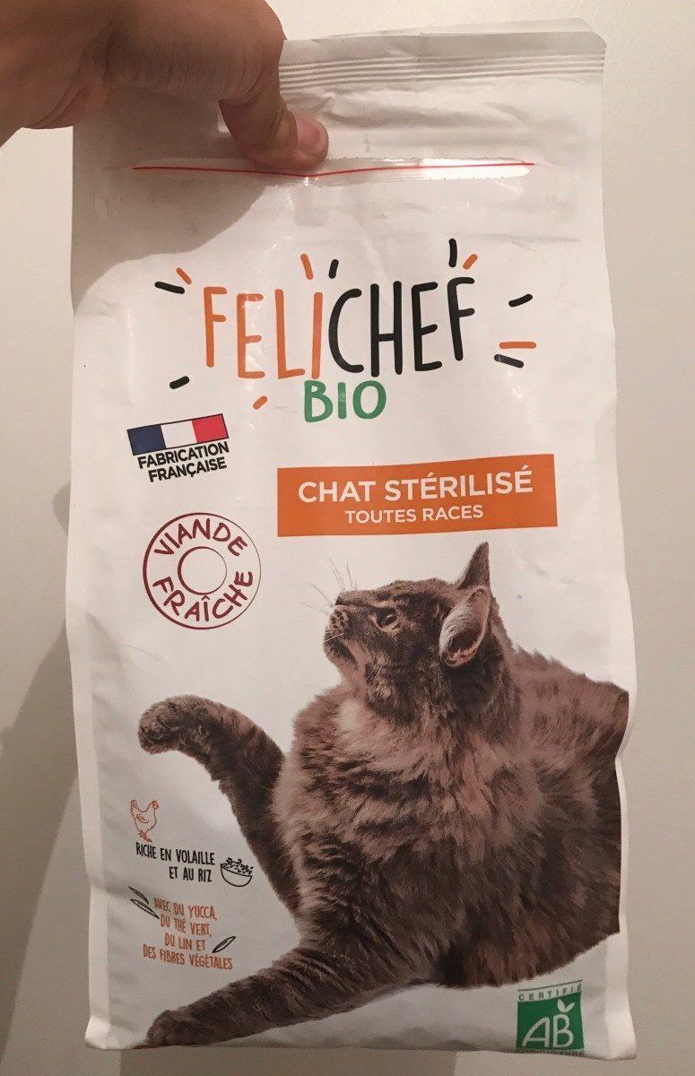 Croquettes Volailles, Riz Pour Chat Stérilisé - Product - fr