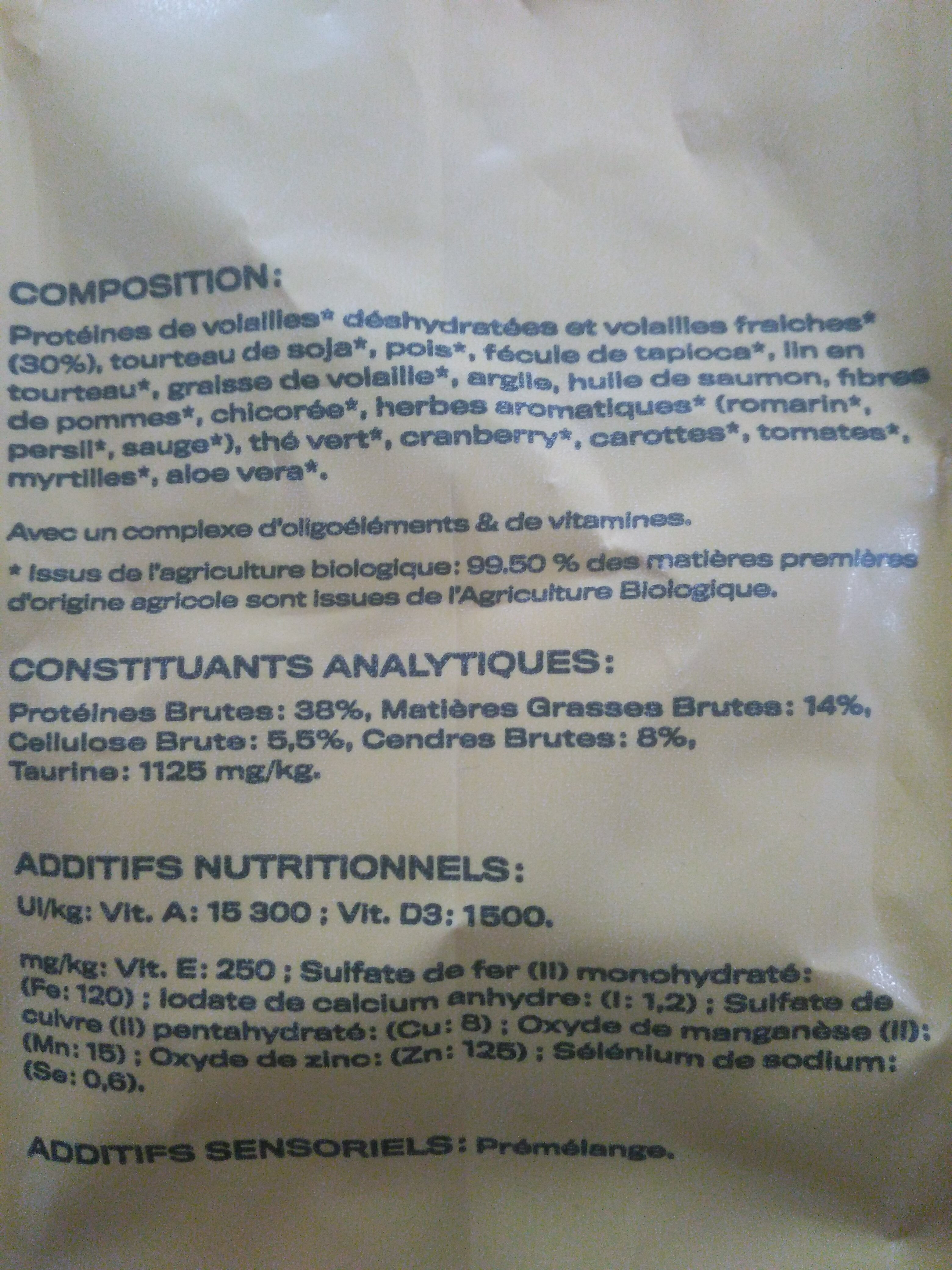 Croquettes felichef - Ingredients - fr
