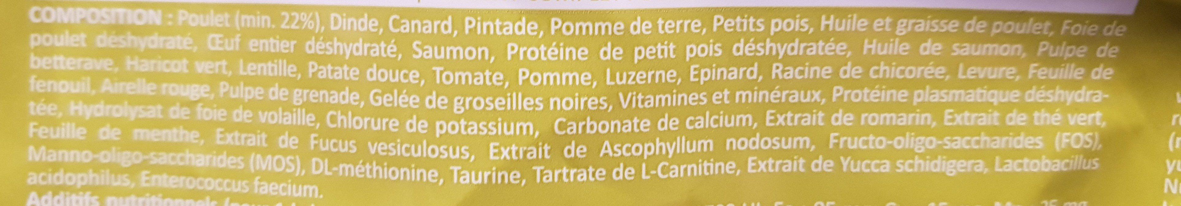 inne pet food - Ingredients - fr